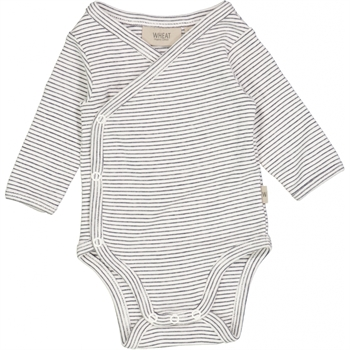 Wheat Marina Rib Stripe Slå-om Body