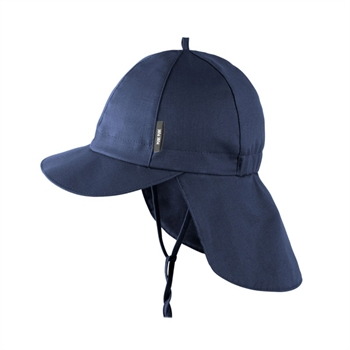 Pure Pure Mini Solhat m. Kasketskygge - Navy