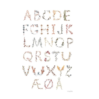 Mushie ABC Plakat - Large