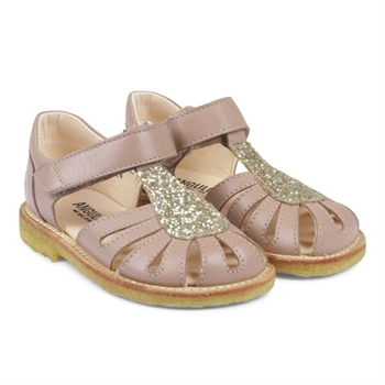 ANGULUS Sandal m. Glimmer - Make-up