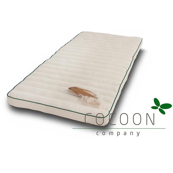 Godt Økologisk kapok madras 70 x 150 cm fra Cocoon - køb her! PE19