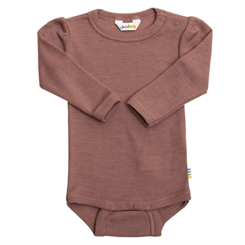 Joha Rib Body Uld/Silke - Old Rose
