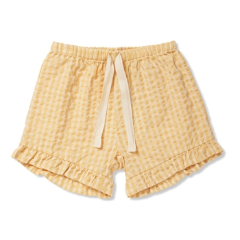 Konges Sløjd Acacia Shorts - Yellow Check