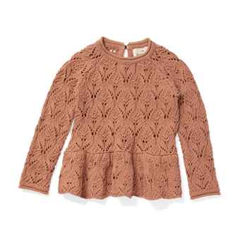 Konges Sløjd Fortune Lace Sweater - Brush