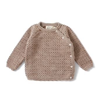 Konges Sløjd Matheo Cardigan - Paloma Brown