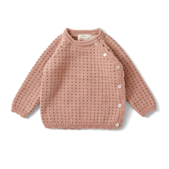 Konges Sløjd Matheo Cardigan - Rose Blush