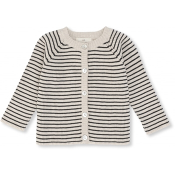 Konges Sløjd Meo Cardigan - Navy/Rice