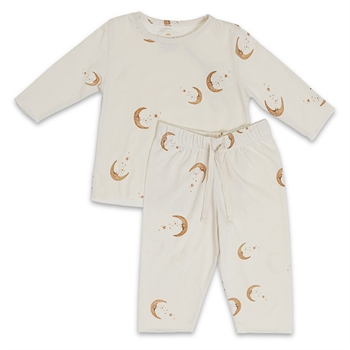 Konges Sløjd Moon Pyjamas - Light Grey