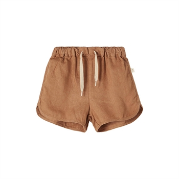 Lil' Atelier Shorts - Tobacco Brown