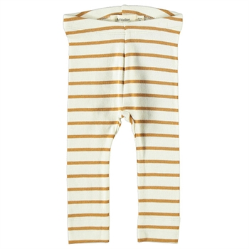Lil' Atelier Stripe Leggings - Cathay Spice