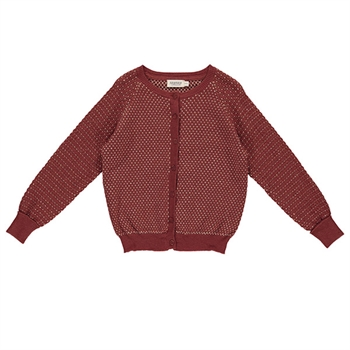 MarMar Celebration Strik Cardigan - Cranberry Shimmer