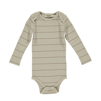 MarMar Berry Air Stripe Rib Body