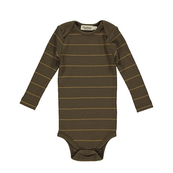 MarMar Golden Olive Stripe Rib Body