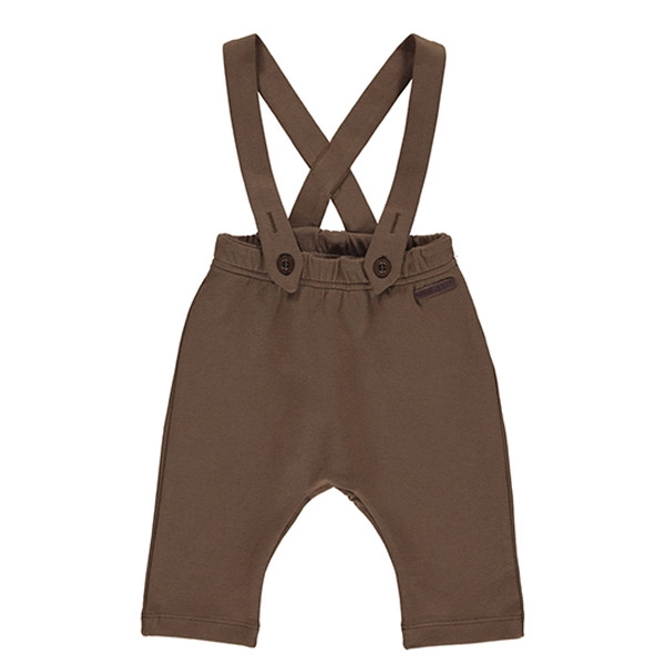 MarMar Celebration Sweat Overalls - Bark