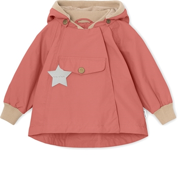 Mini A Ture Wai Jakke m. Fleece - Canyon Rose