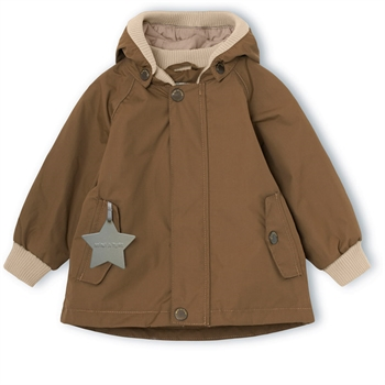 Mini A Ture Wally Jakke m. Fleece - Wood
