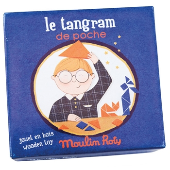 Moulin Roty Lomme Tangram Spil