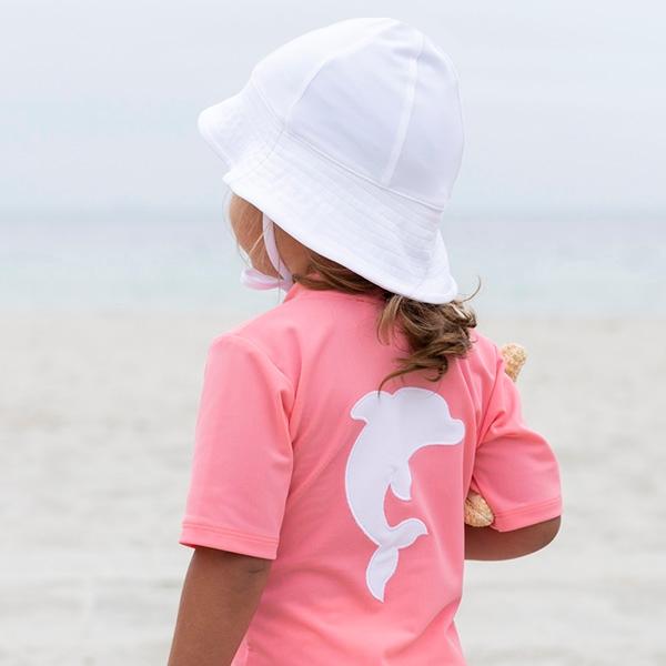 7e7210a043c Køb Petit Crabe UV solhat i hvid hos Parcellet.dk