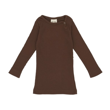 Petit Piao Modal Bluse - Bison Brown