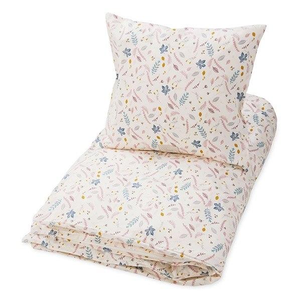 cam cam sengetøj Køb Rressed Leaves Rose baby sengetøj fra Cam Cam her. cam cam sengetøj