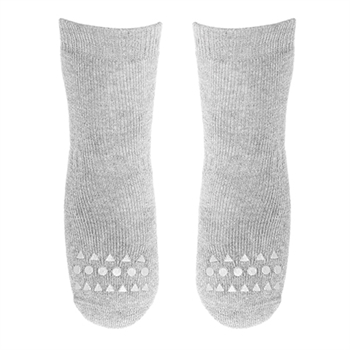 GoBabyGo Non-Slip Strømper - Light Grey