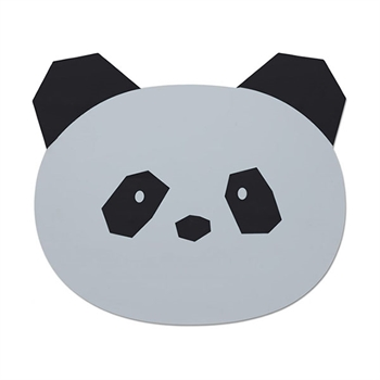 Liewood Placemat Panda - Dumbo Grey