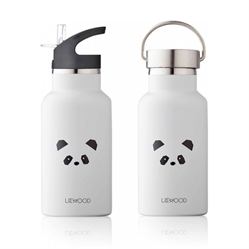 Liewood Anker Drikkedunk Panda - Light Grey