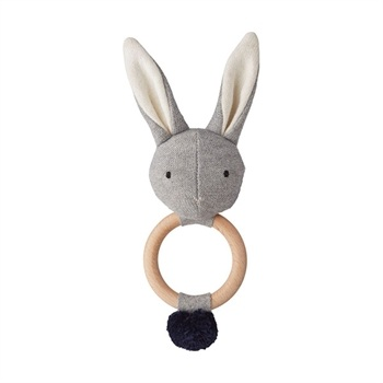 Liewood Knit Rangle - Rabbit Grey Melange