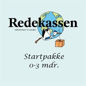 Redekassen - Startpakke 0-3mdr