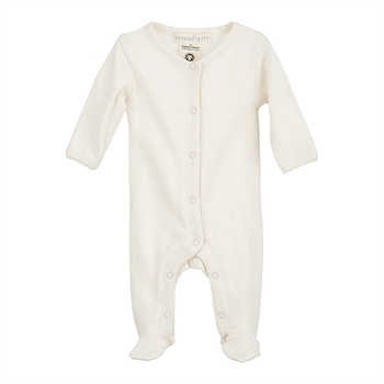 Serendipity Newborn Suit Pointelle