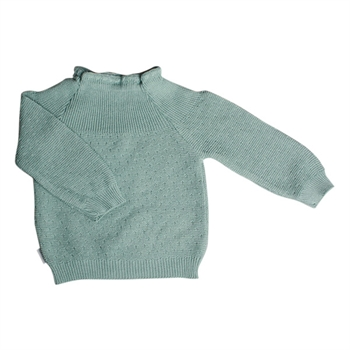 Selana Sweater Bomuld - Green