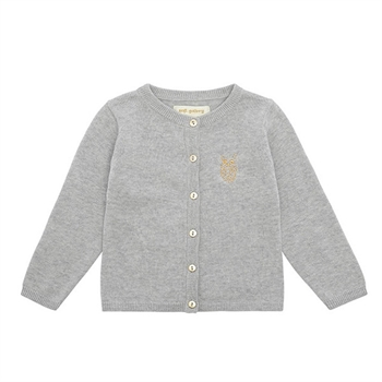 Soft Gallery Baby Cardigan Grey Melange