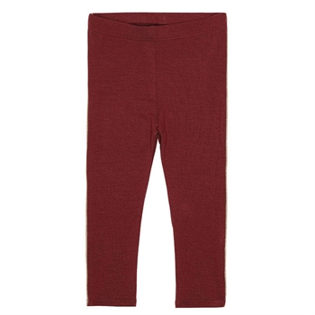 Soft Gallery Leggings Oxblood Red