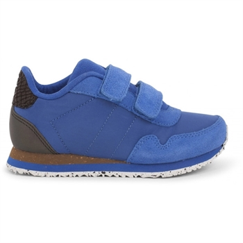 Woden Kids Nor Suede Sneaker - Royal Blue