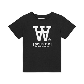 Wood Wood Double A T-shirt Black