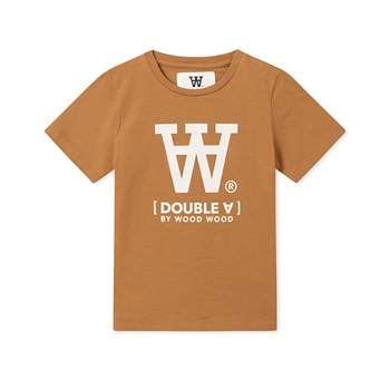Wood Wood Double A T-shirt Camel
