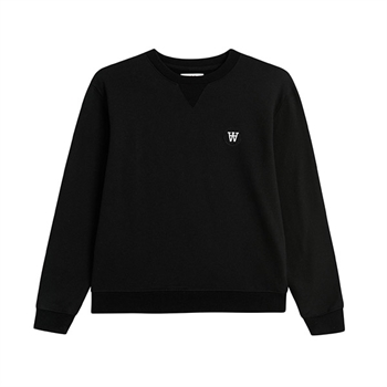 Wood Wood Rod Sweatshirt Black
