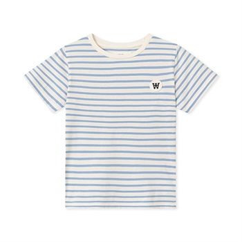 Wood Wood Ola T-shirt Offwhite/Blue