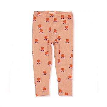 Bobo Choses Chocolate Flower AOP Baby Leggings