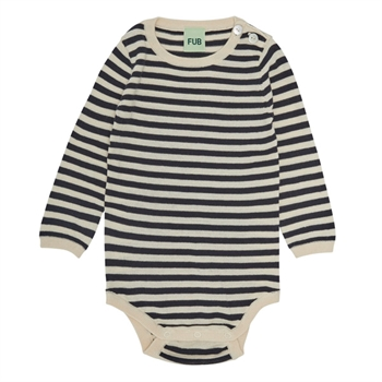 FUB Baby Body Ecru/Dark Navy SS21