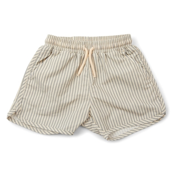 Konges Sløjd Aster Badeshorts - Light Blue Stripe