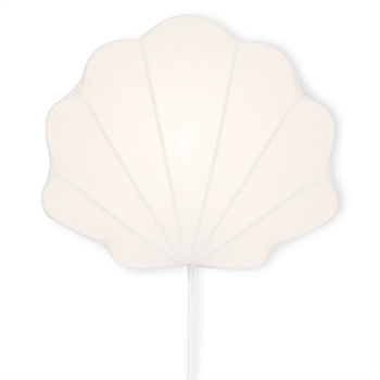 Konges Sløjd Clam Fabric Lamp - White