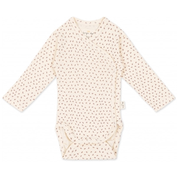 Konges Sløjd Newborn Body - Tiny Clover Beige