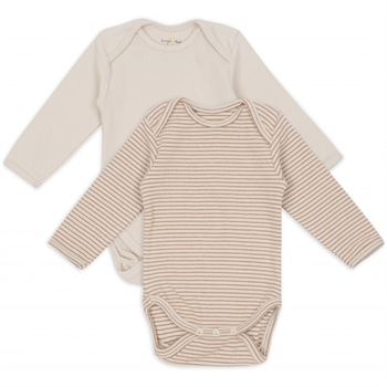 Konges Sløjd Saya 2-Pak Body - Faded Brown/Beige