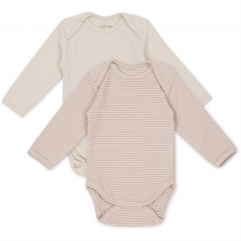 Konges Sløjd Saya 2-Pak Body - Rose Blush/Beige