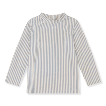 Konges Sløjd Aster UV Bluse - Light Blue Stripe