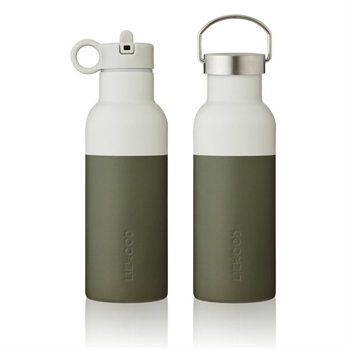 Liewood Neo Drikkedunk 500ml - Hunter Green/Dove Blue