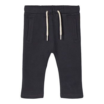 Lil' Atelier Sweat Baby Bukser - Blue Graphite