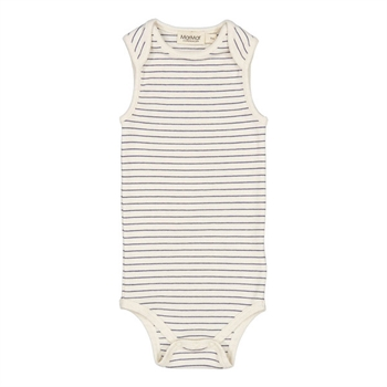 MarMar Blue Stripe Modal Sleeveless Body