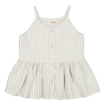 MarMar White Sage Stripe Top